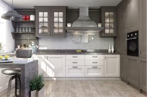 Неоклассика в интерьере кухни