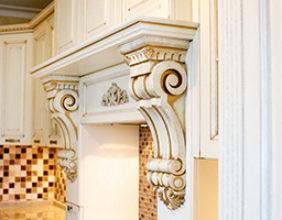 Изготовление деревянных фасадов и декоров на производстве