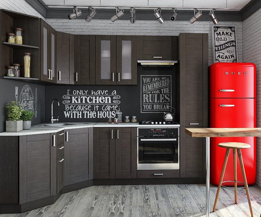 Кухня Лофт-02 угловая
