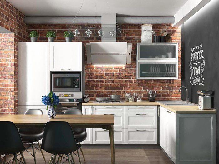 Кухня Лофт классик
