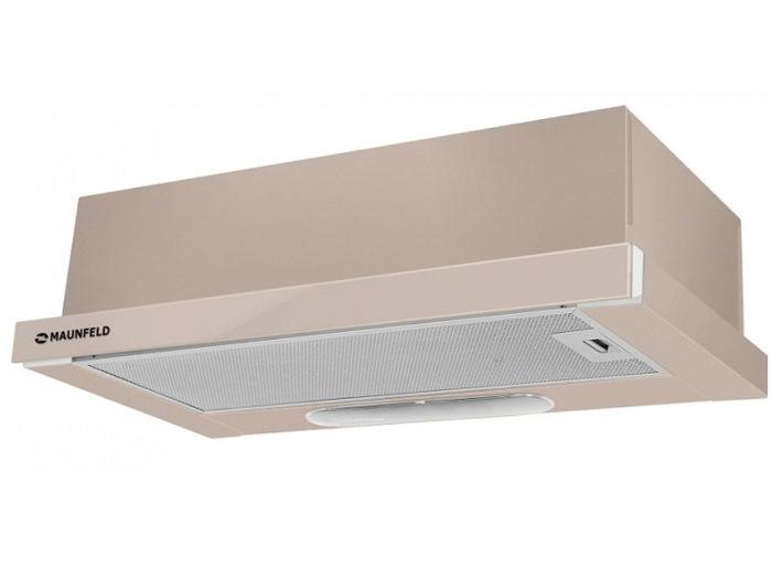 Кухонная вытяжка MAUNFELD VS Light Glass (C) 50 темно-бежевый